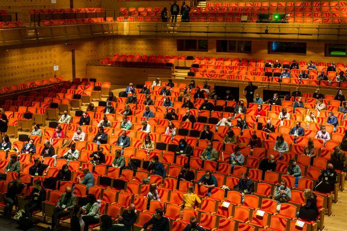 Het congres 'Van scherm naar CERM' was dinsdag het allereerste testevenement van Vlaanderen.