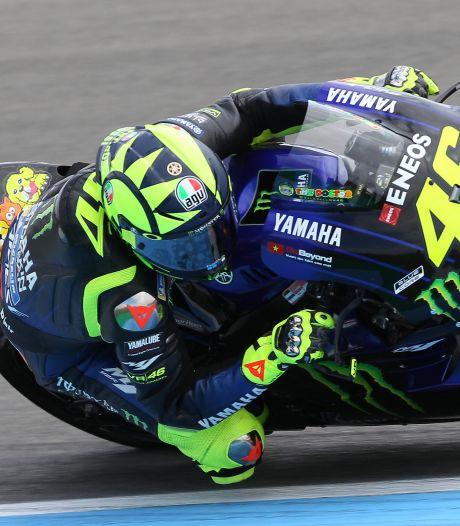 Rossi denkt na over einde carrière: 'Ik hak snel de knoop door'