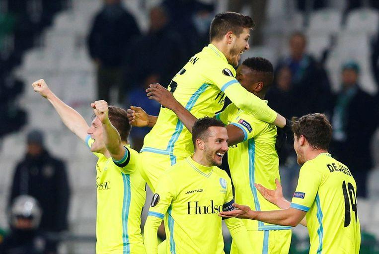 Kalifa Coulibaly scoorde de verlossende 0-1 op het veld van Konyaspor. Beeld Photo News