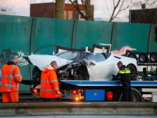 Inzittenden van gecrashte Lamborghini nog steeds niet gevonden: 'Hij kan z'n leven lang gaan betalen'