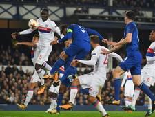 Wankelend Everton overklast door frivool Lyon