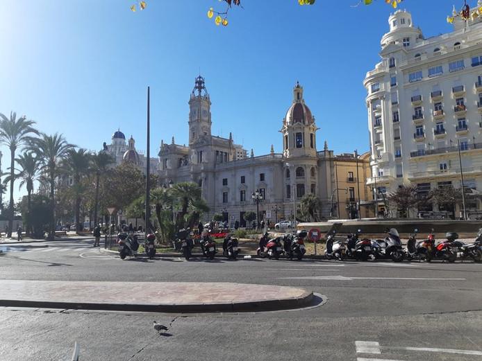 De binnenstad van Valencia gefotografeerd door de selectie van Alphia.