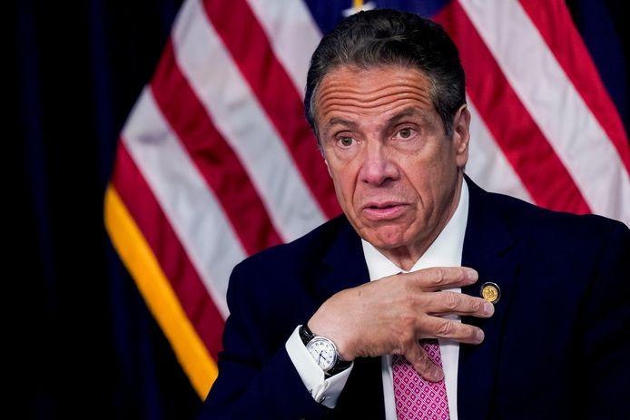 Andrew Cuomo, gouverneur van New York.