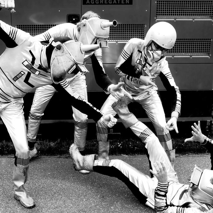 De Rotterdamse band Les Robots.