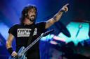 Dave Grohl van de Foo Fighters.