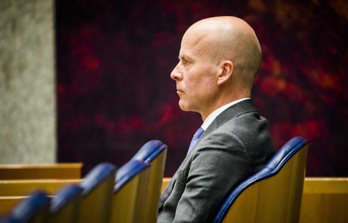 Staatssecretaris Raymond Knops van Binnenlandse Zaken en Koninkrijksrelaties (CDA).