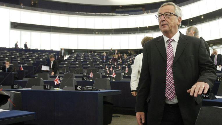 Commissievoorzitter Jean-Claude Juncker.