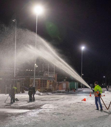 Niet zoveel vorst als verwacht, maar schaatsen kunnen uit het vet in de Vallei