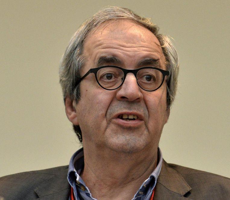 Dirk Van der Maelen (sp.a).  Beeld belga
