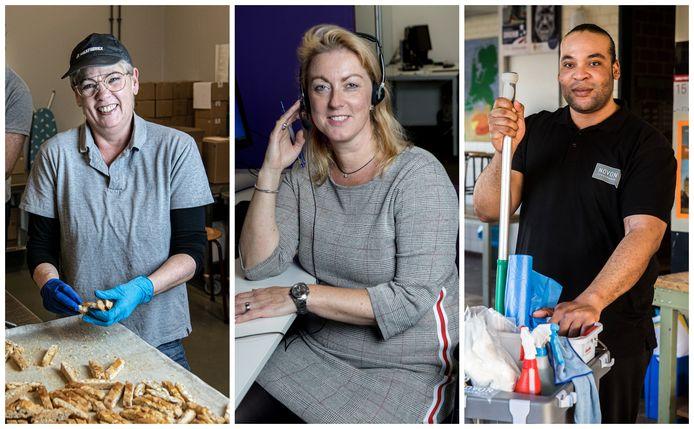 Van links naar rechts: Lia Bakker, Marike Mas en Do Parker.