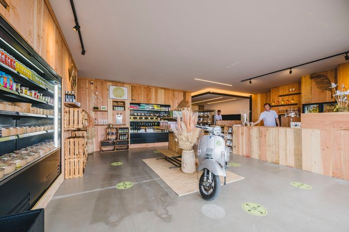 The Culinary Shop ziet er vanbinnen zo uit.
