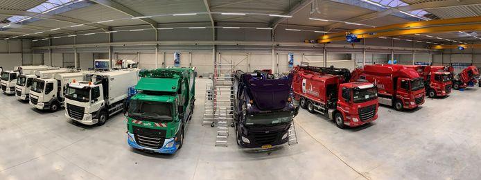 E-Trucks Europe in Lommel (België) bouwt vuilniswagens op waterstof.