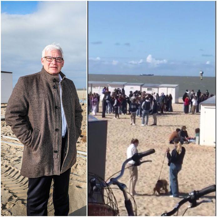 Burgemeester Piet De Groote is overtuigd dat het veilig is om de horeca te openen.