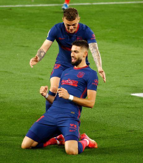 Premier but de l'année pour Carrasco, l'Atletico accroché, le Real grand vainqueur du week-end