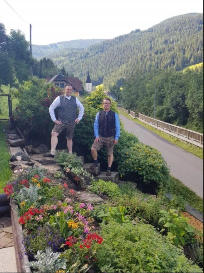 Rene en zijn man Stephan voelen zich thuis in Oostenrijk.
