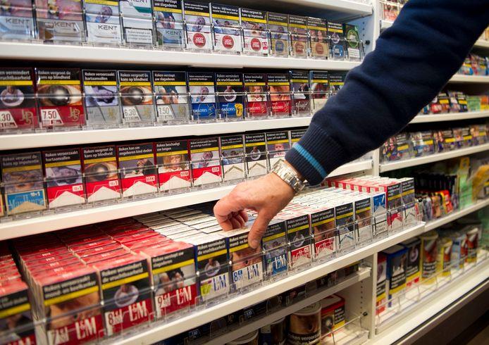 Sigaretten kopen: niet meer mogelijk bij de Lidl in de Griegstraat in Delft.