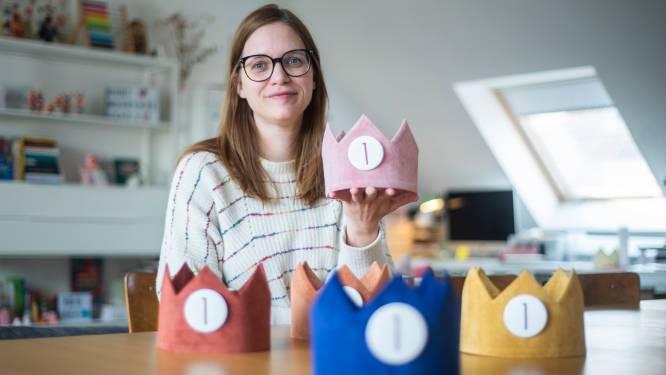 """Het begon met eentje voor eigen zoon, nu maakt mama 2.000 herbruikbare kronen per jaar: """"Ze gaan tien verjaardagen mee"""""""