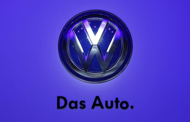 Het logo van Volkskwagen. Beeld reuters