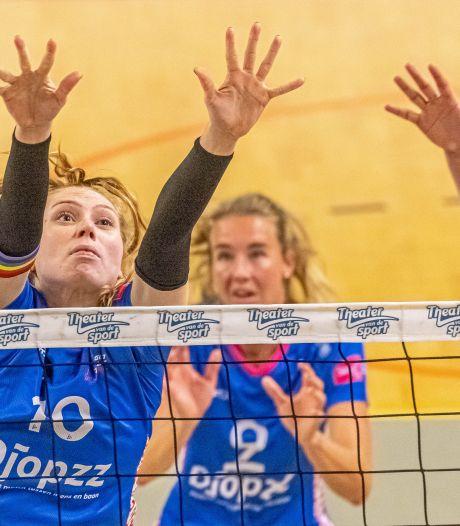 Jong talent wil doorgroeien bij Regio Zwolle Volleybal, maar ziet start van de competitie in het water vallen