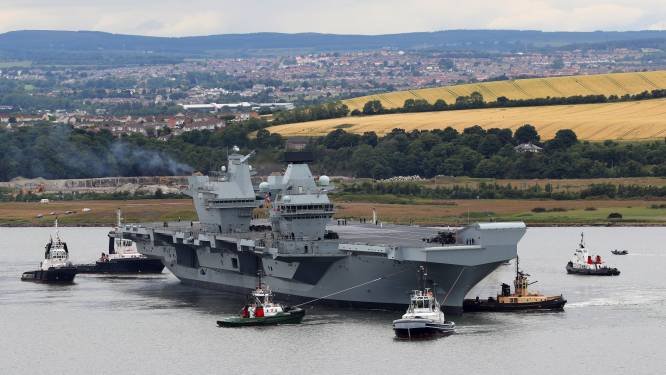 Gloednieuw Brits vliegdekschip draait op Windows XP, en dat baart experts zorgen