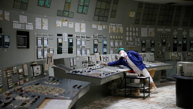 Vlieg met een vliegtuig over Tsjernobyl