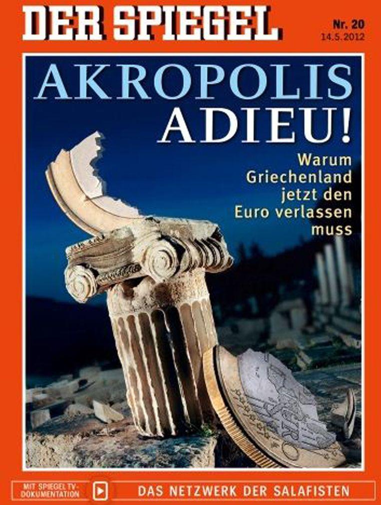 De cover van Der Spiegel Beeld