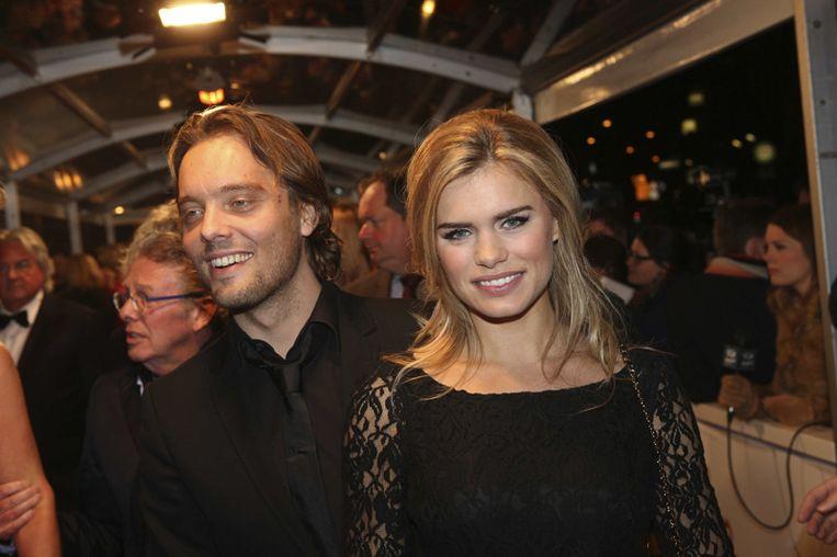 Nicolette van Dam en partner Bas Smit<br /> Beeld