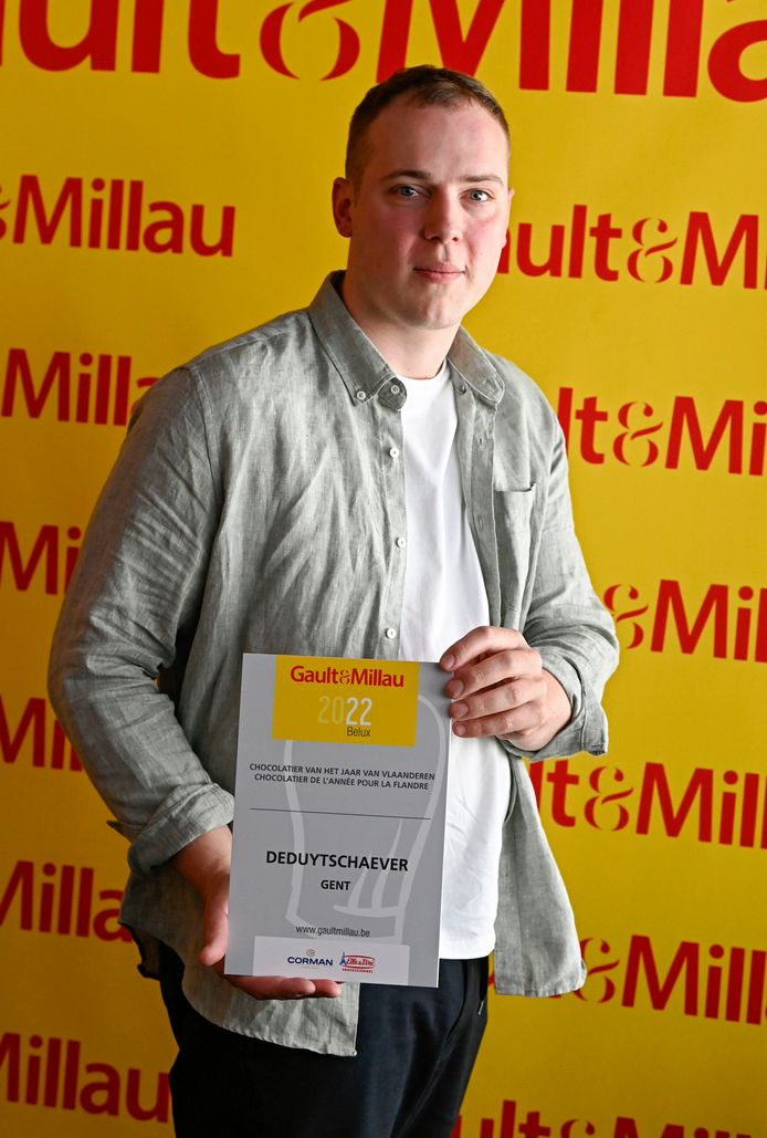Jannes Deduytschaever mocht de prijs maandag in ontvangst nemen