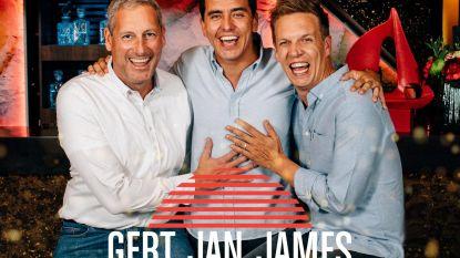 Vanavond eindigt zesde seizoen 'Gert Late Night':Gert en James verlaten Evanna met film én single