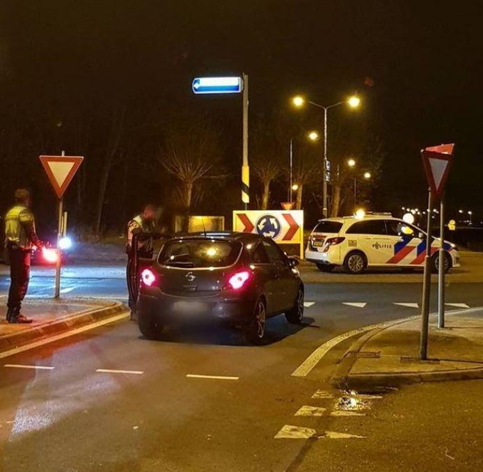 De politie schreef op zaterdagavond- en nacht flink wat boetes uit