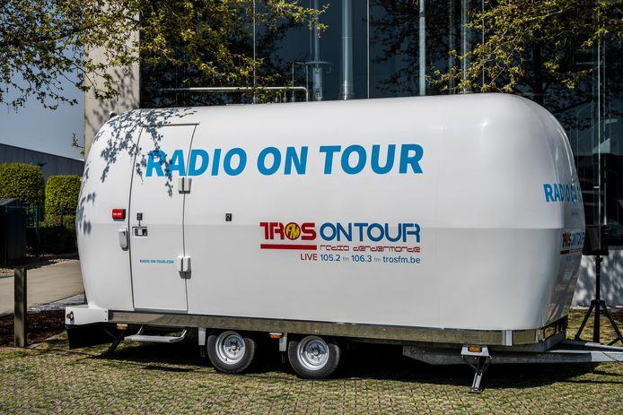 De mobiele studio zal in Hamme te zien zijn tijdens de Wuitensmarsen.