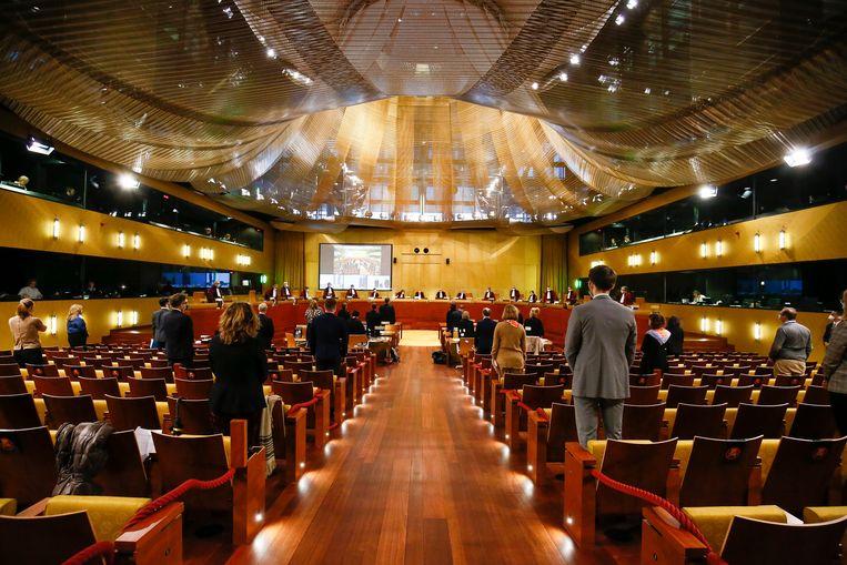 Het Europese Hof van Justitie in Luxemburg.  Beeld Hollandse Hoogte / EPA