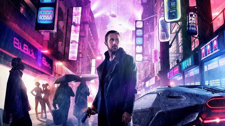 Ryan Gosling in Blade Runner 2049. Beeld