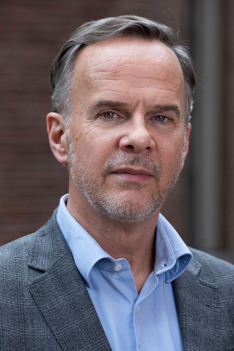 Conservator Norbert Middelkoop deed jarenlang onderzoek naar groepsportretten uit de zeventiende eeuw. Beeld Amsterdam Museum