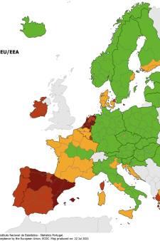 Restrictions de voyage: la France, la Grèce, la Sicile, la Sardaigne, Rome et Venise virent à l'orange