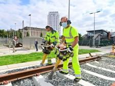 """Inauguration de la première """"école du rail"""" à Molenbeek"""