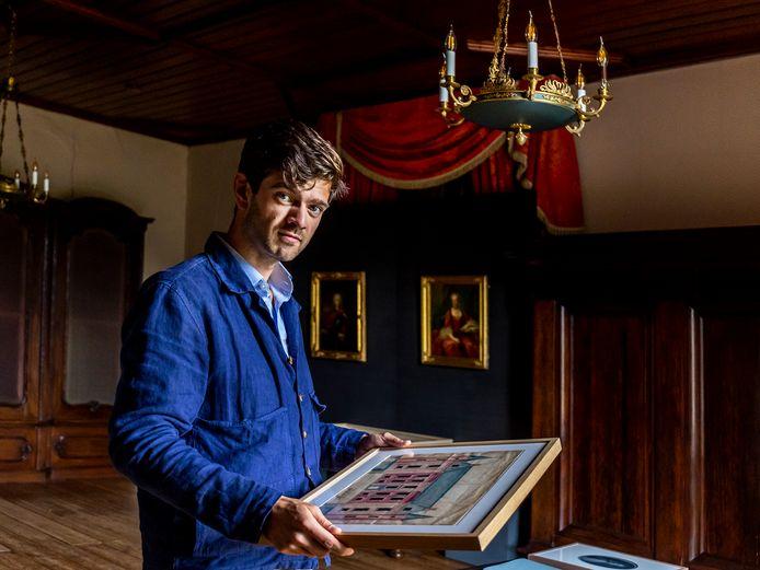Willem te Slaa, directeur van Slot Zuylen: 'Met deze tentoonstelling willen we openheid geven over het slavernijverleden dat ook het slot raakt'
