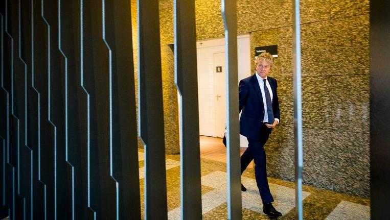 Jacques Monasch (Groep Monasch) arriveert in de Tweede Kamer. Beeld anp