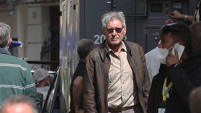 Harrison Ford weer gespot op 'Indiana Jones'-set na schouderblessure