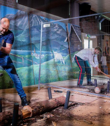 Hakken met een bijl: ook vrouwen strijden om titel beste bieleman van Gelderland