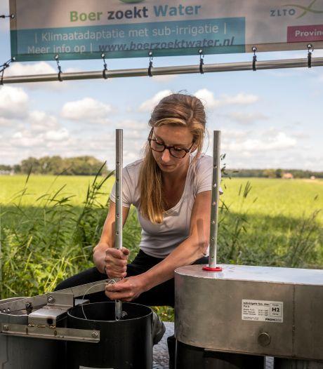 Boeren beheren het water voor plant, dier en .... mens