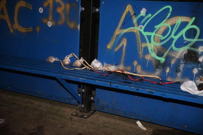 Explosieven-verkenners moesten de vuurwerkbom onschadelijk maken.