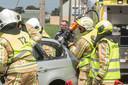 Hydraulisch werkmateriaal wordt voornamelijk gebruikt voor het bevrijden van verkeersslachtoffers. Mogelijk willen de dieven er inbraken mee plegen.