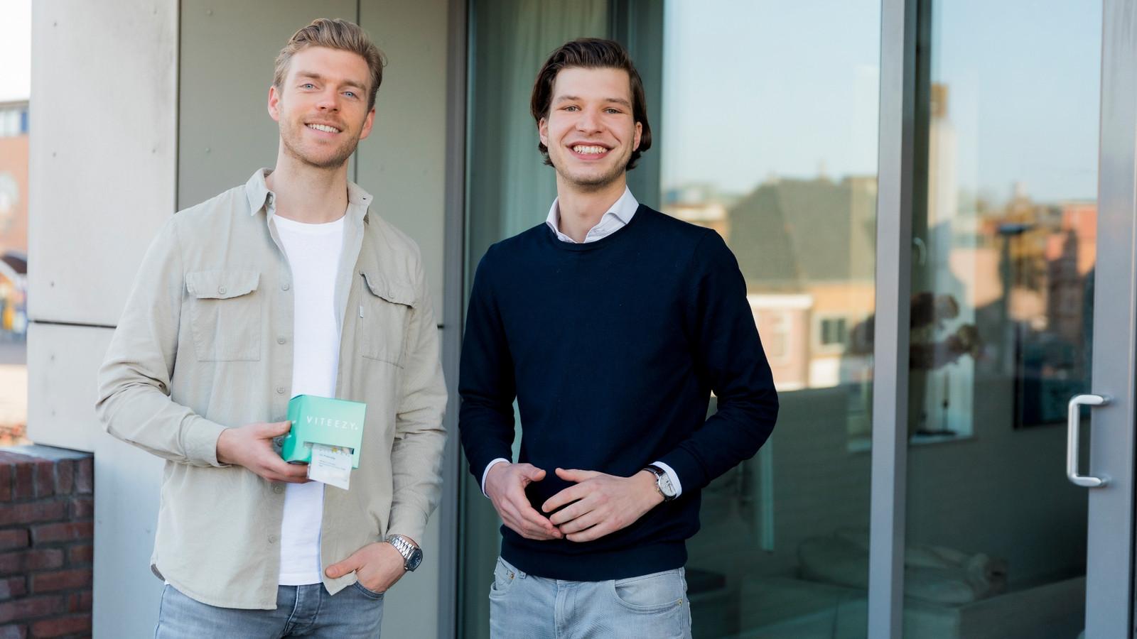 Frans Peters (28) en Bas van Klaveren (26) van Viteezy.
