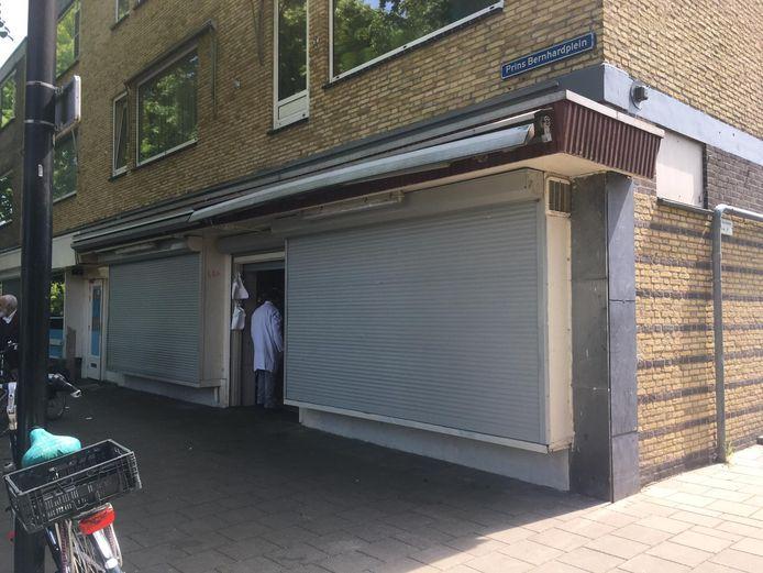 De slagerij in Zuilen is dicht