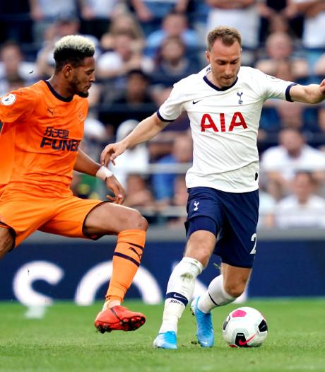Willems ziet Newcastle vanaf bank winnen bij Spurs, Wolves doet Pieters' Burnley in extremis pijn