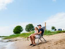 Waarschuwing: water zakt, maar Lek blijft levensgevaarlijk voor zwemmers door stroming en afval
