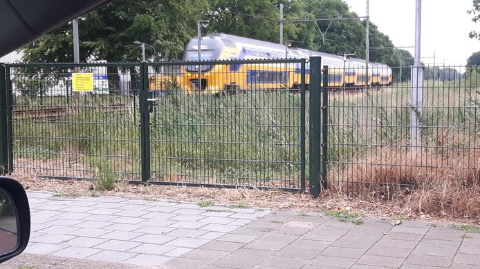 De trein vanuit Boxtel naar Vught