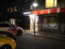 Beroving van portemonnee onder dreiging vuurwapen in Spar Nijkerkerveen