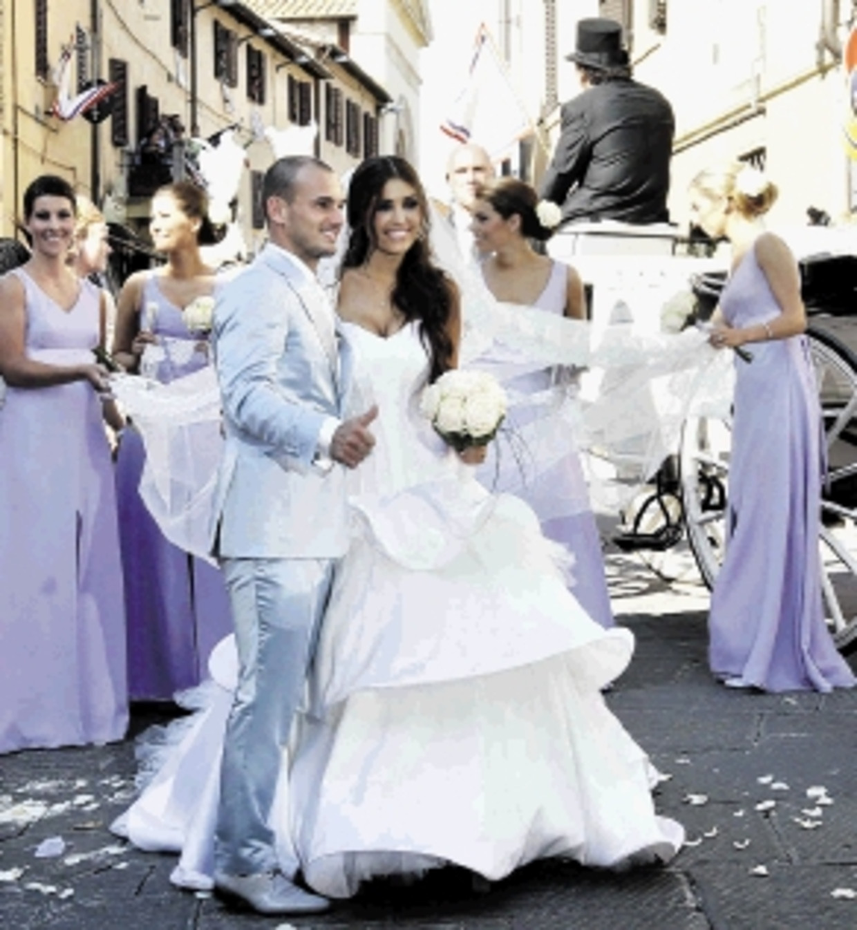 yolanthe wesley bruiloft
